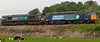 66423 & 57007, 0Z63, Carnforth, 22 May 2008 - 1721    A Gresty Bridge - Kingmoor move.