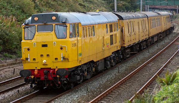 31285 & 31454, 5Z14, Hest Bank, 22 September 2008 - 1129 1    A Derby - Carlisle positioning move.