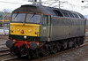 47815 Great Western, 0Z47, Carnforth, 12 March 2008 - 1317    Riviera's 47 runs light from Shieldmuir to Warrington for further mail standby duty.