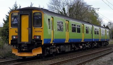 North West trains, 2011