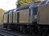 57601, 43123 'Valenta' 1972 - 2010 & 43084, 5Z57, Carnforth, Thurs 6 January 2011 - 1342 2