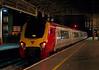 221111 Roald Amundsen, Preston, 24 July 2009 - 2247    Virgin's last southbound service, the 2010 Glasgow - Crewe, leaves platform 4.