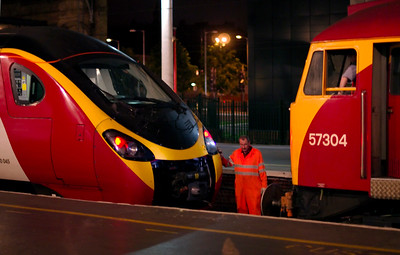 Preston trains, July 2009