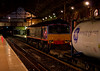 66412, 4S47, Preston, 24 July 2009 - 2218    DRS's 1855 Daventry - Coatbridge intermodal passes platform 3.