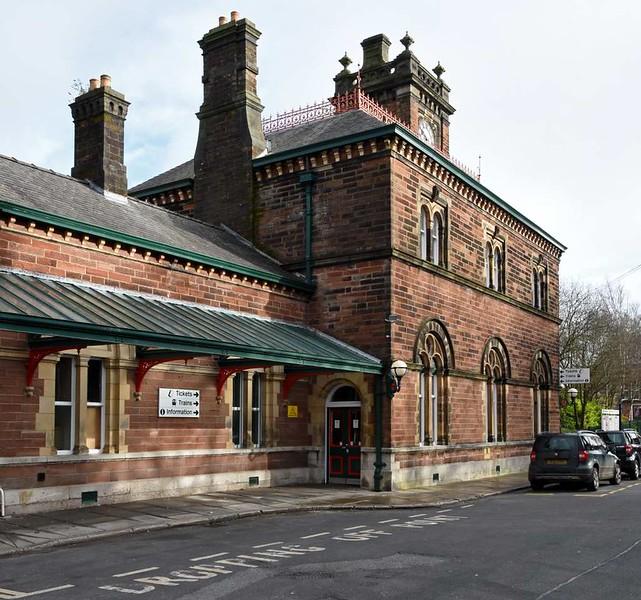 Ulverston station, 14 March 2017 14.