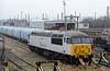 DB Schenker Arpley sidings, Warrington, Thurs 4 February 2010 4