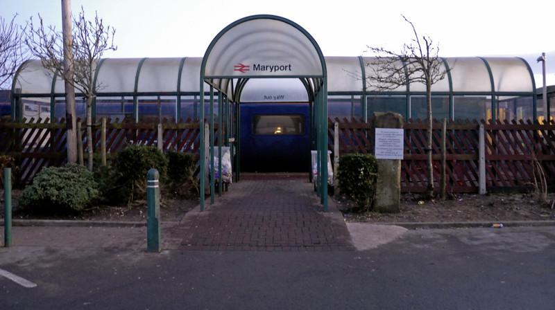 Maryport Station, 18 December 2009