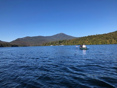Paddle from Whiteface Mountain across Lake Placid