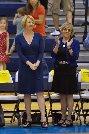 Northwood Executive Vice President Dr. kristin Stehouwer (left)