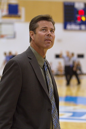 Timberwolves head Coach Jeff Rekeweg
