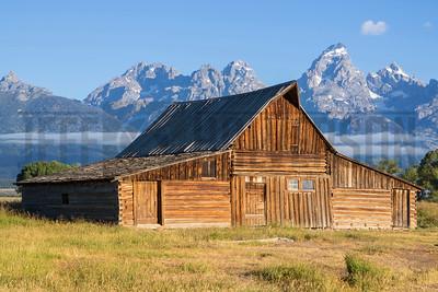 Mounton Barn - Tetons - Wyoming