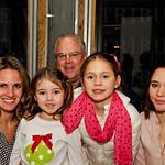 Woody Hamilton with Jill, Sophia, Jinger and Jorgia McMeans.