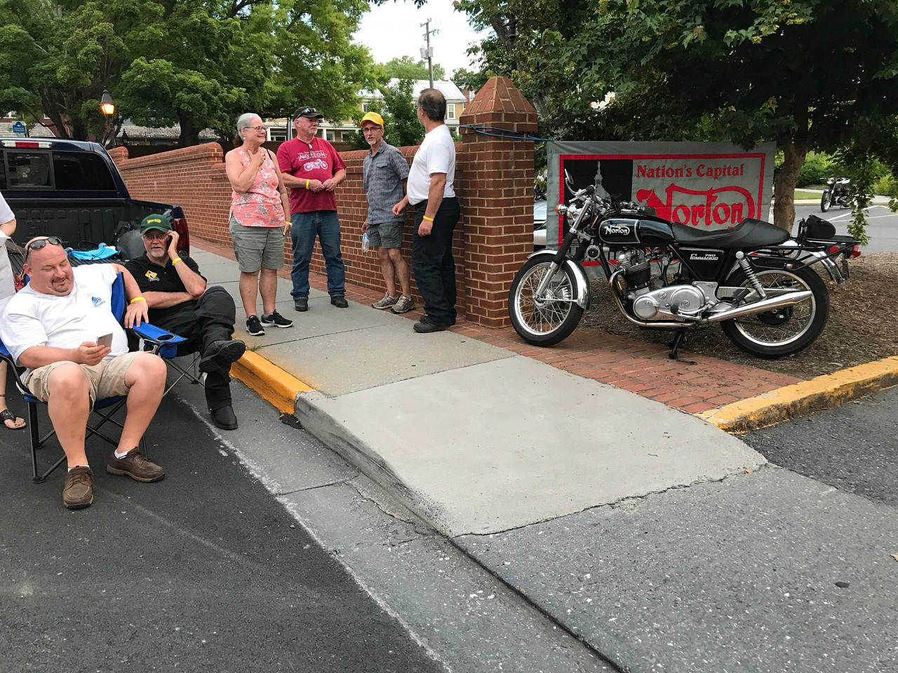 Downtown Lexington VA destination for Norton Thunder Rallygoers with private parking