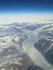 Looking down at Greenland... amazing view.