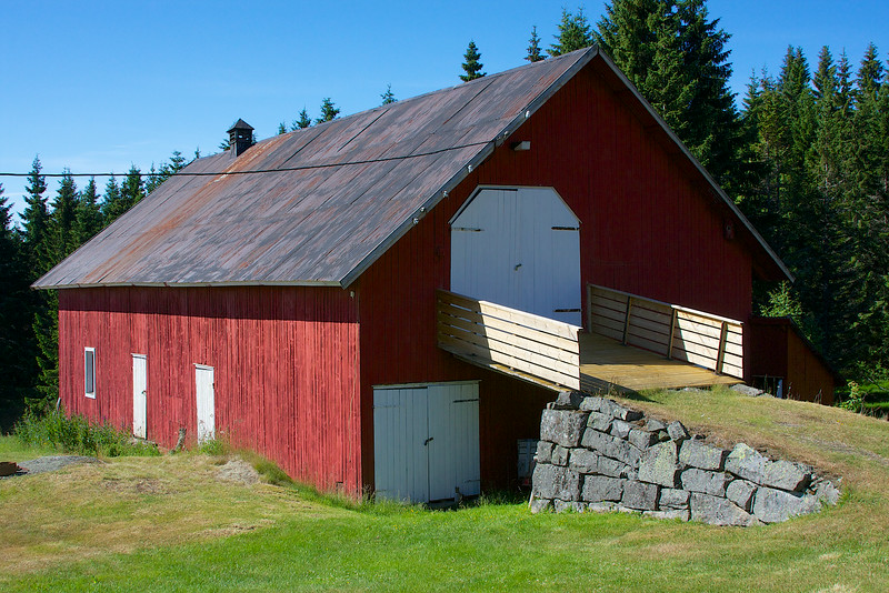 On the Brekke farm Norway.
