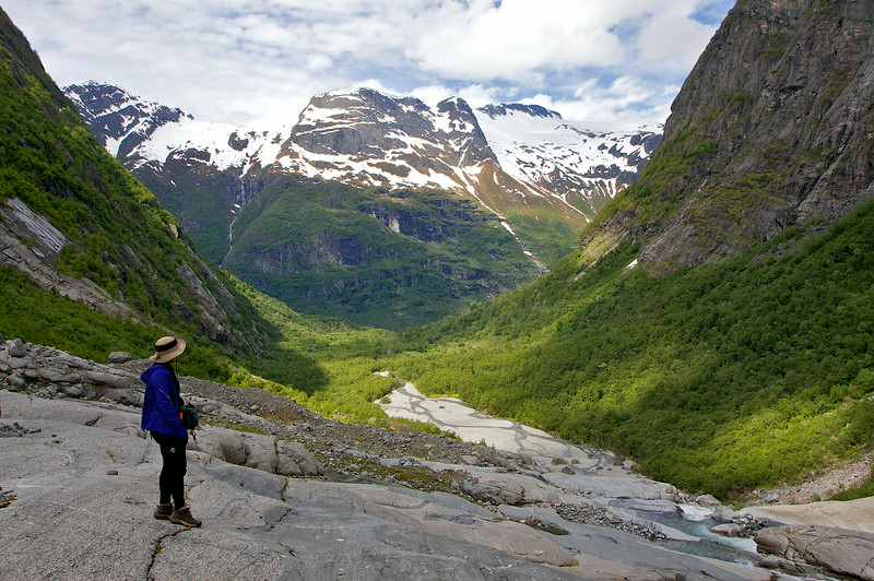 Hiking in the Jostedalsbreen 2012