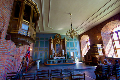 The chapel. Akershus Fortress Oslo.