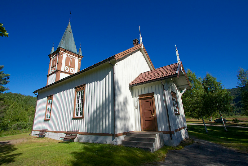 Luksefjell Church Norway.