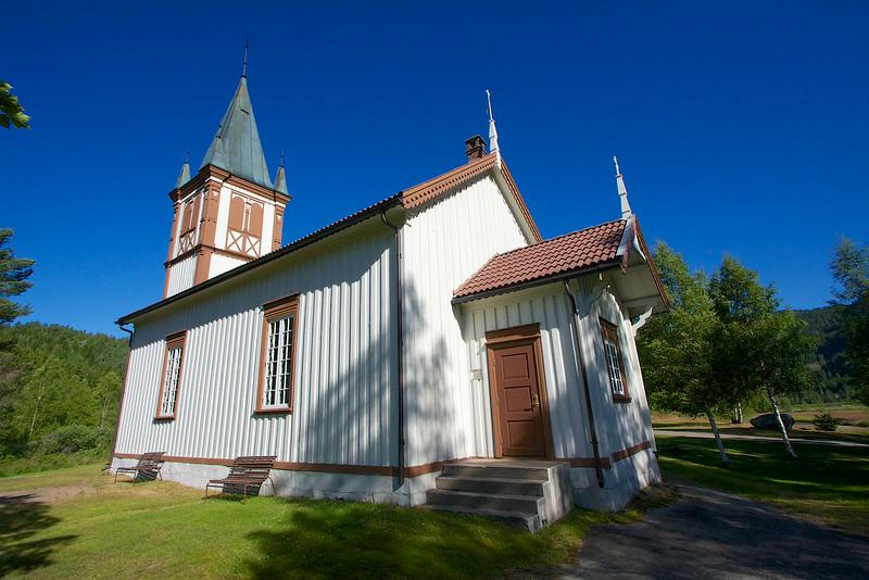 Luksefjell Church Norway.