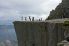 Preikestolen...hundreds of people hike up here every day.