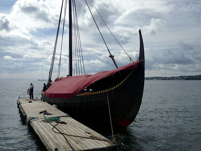 The Gokstad Viking Longship.