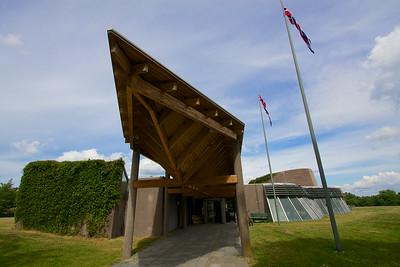 The Midgard Historical Center Borre Norway.