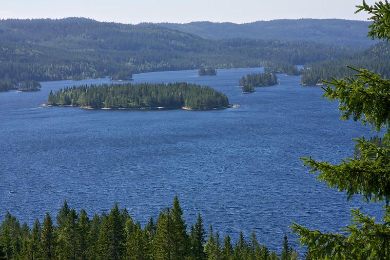 Lake Okteren near Brekke Norway.