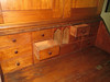 This is a desk built by my great great grandfather who immigrated from Norway in 1849 on the bark Superb. Not one nail.