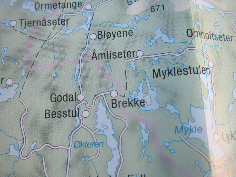 """The name of the farm in Norway was meant as an address"" you could think of it that way Gard said to me. When the new immigrants came to America some took  their last name from there address, the farm name. Brekke means slope in Norwegian and sure enough the farm is on a slope. The Brekke and Bestul farms are next to each other in Norway and the Untied State. They must of got along...."