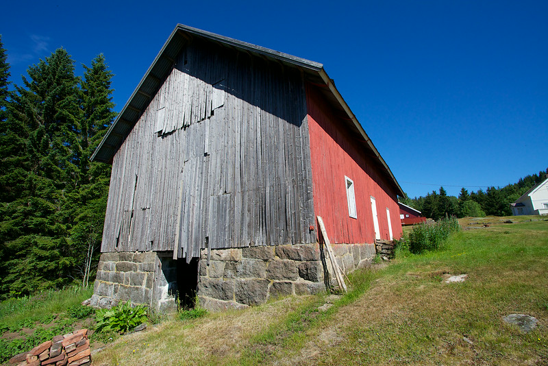 The Brekke farm Norway.