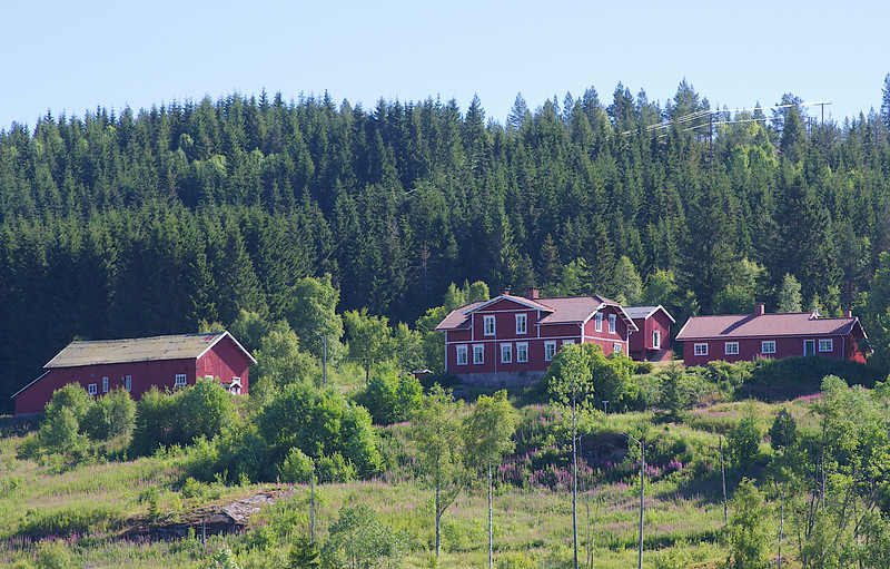 The Bestul farm Norway.