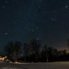 Nordlandshuset and the amazing night sky