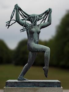 Marnie shot- Vigeland statue in Frogner Park,  Oslo
