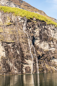 Norway - Geirangerfjord - The Bridal Veil Waterfall
