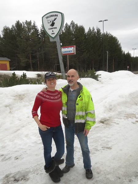 This is Robin & Bjorn they run Telemark Camping & Inn