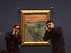 Edvard Munch's.. Scream.. at the National Gallery.