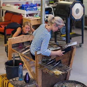 Engelskmannsbrygga, Glass Blowing Studio, Henningsvær, Austvågøya, Lofoten, Norway