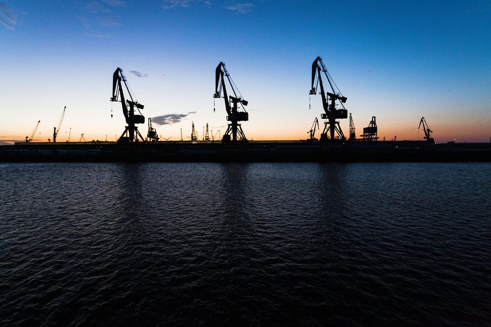 Rostock Port, Germany