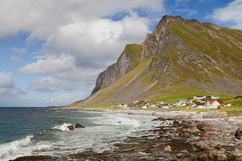 Nordgården, Flakstadøya, Lofoten, Norway