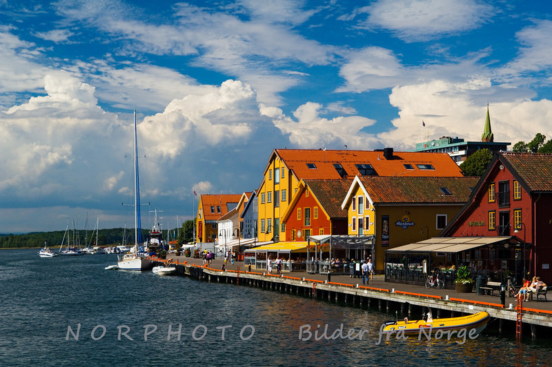 Byer i Norge / Towns in Norway