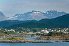 Bays and inlets surrounding the city of Alesund, Norway, Europe.