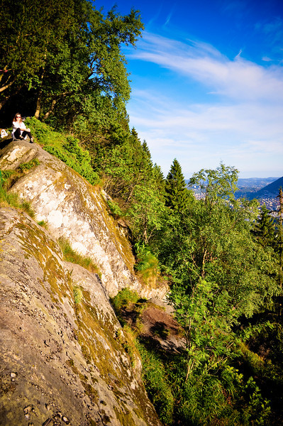 July 17 - Lookout over Bergen