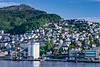 The shipping port facilities of Bergen, Norway, Europe.