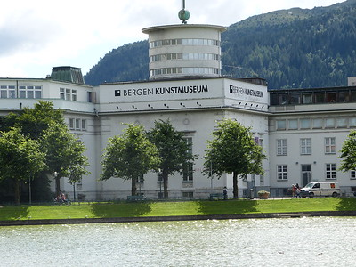 City of Bergen, Norway, August 08, 2012 The Kunstmuseum