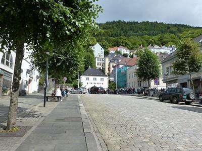 City of Bergen, Norway, August 08, 2012 Vetrlidsalm