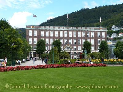 City of Bergen, Norway, August 08, 2012