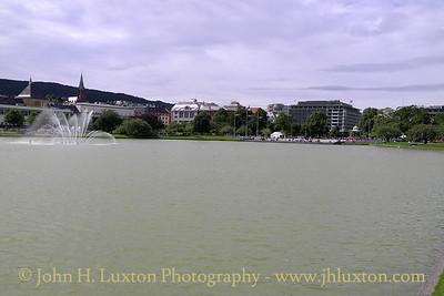 City of Bergen, Norway, August 08, 2012 Lille Lutgegardsvann