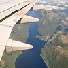 July 14 - Flying into Bergen, Norway