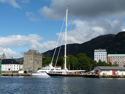 City of Bergen, Norway, August 08, 2012