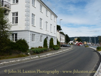 Farsund is a small coastal town in south west Norway. Approach from the sea is via a narrow channel. These photographs were taken on August 09, 2012 during the call of Fred. Olsen Lines BALMORAL.